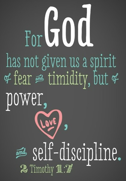 power, love, discipline